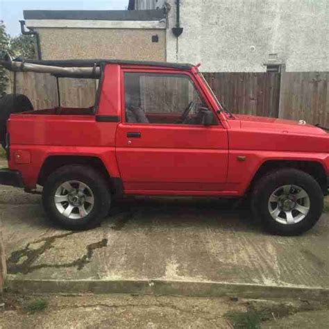 Rocky 4x4 Daihatsu Daihatsu Rocky 4x4 Petrol Car For Sale