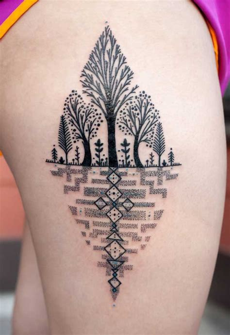 tattoo blend 40 achingly beautiful tree tattoos tattooblend