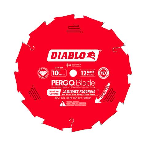 diablo 10 table saw blades freud d1012lf diablo 10 inch 12 pcd pergo laminate