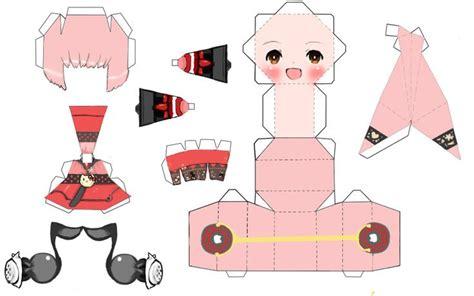 Papercraft Animation - cosas kawaii para imprimir buscar con freebies