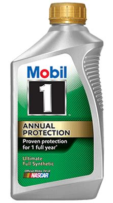 one mobil mobil 1 annual protection mobil motor oils