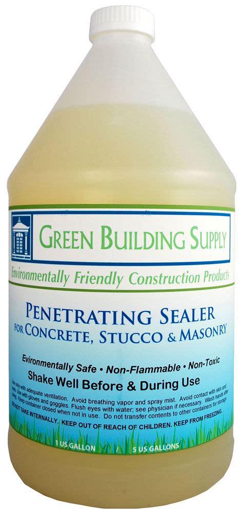 Green Building Supply, Penetrating Concrete Sealer   Non
