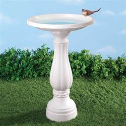 bird bath plastic bird bath white bird bath miles