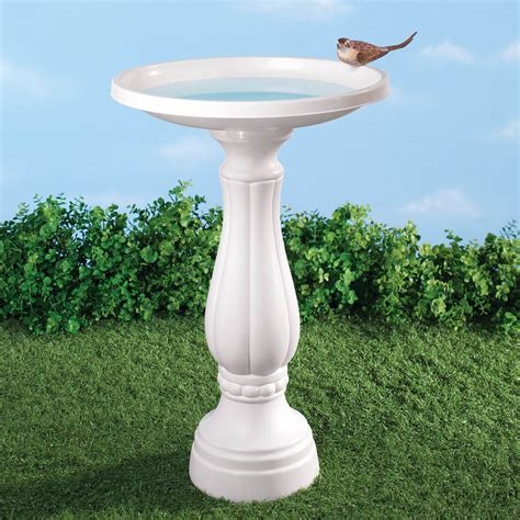 bird bath plastic bird bath white bird bath miles
