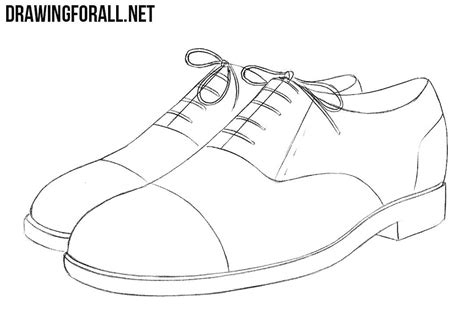 how to draw a running shoe step by step how to draw shoes drawingforall net