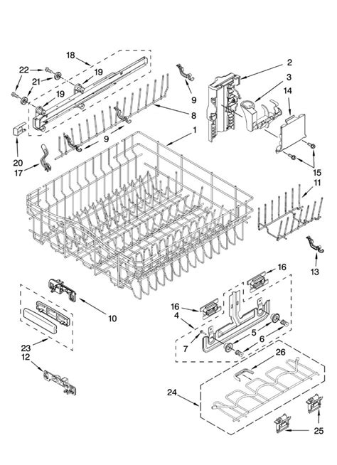 wiring diagram for kitchenaid dishwasher wiring