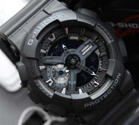 G Shock Ga110 Black Blue Murah jual g shock ga 110 1b jam digital original resmi garansi