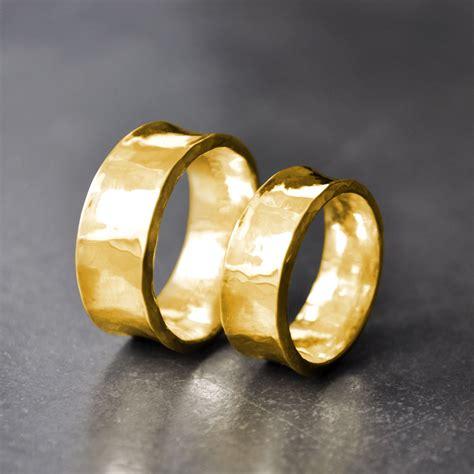 Partnerringe Gold by Pureform Eheringe Partnerringe Breit Feingold 999