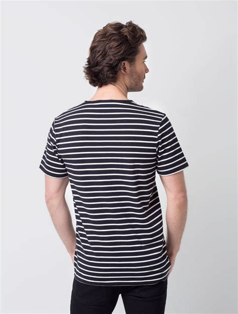Shirt Hitam Bl Sh 09 by Black And White Striped Shirt Www Pixshark Images