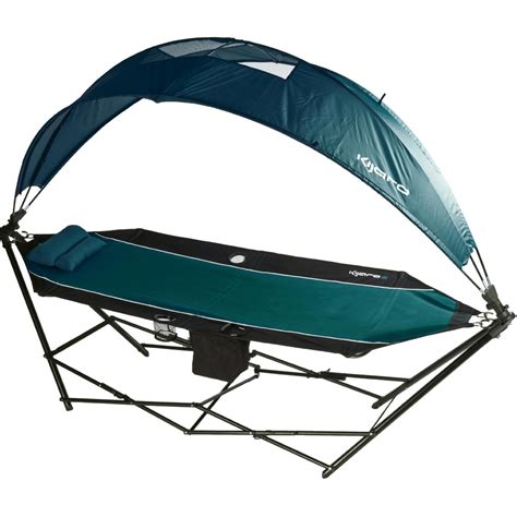 kijaro portable hammock with canopy and cooler the