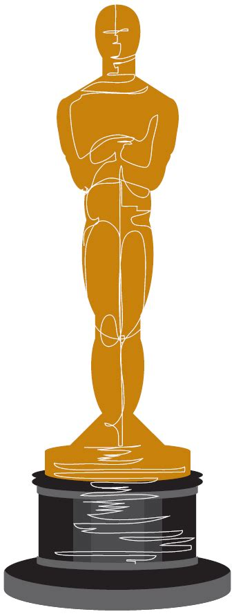 oscar clipart statue clipart academy award pencil and in color statue