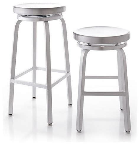 Crate And Barrel Bar Stool by Spin Bar Stools Crate Barrel Industrial Bar Stools