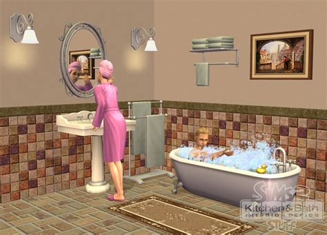 The Sims 2 Kitchen And Bath Interior Design Image Sims 2 Kitchen And Bath Interior Design Stuff The