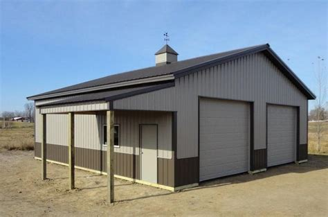 shop building designs metal shop color ideas pictures gt agricultural buildings gt burnished slate with small eave
