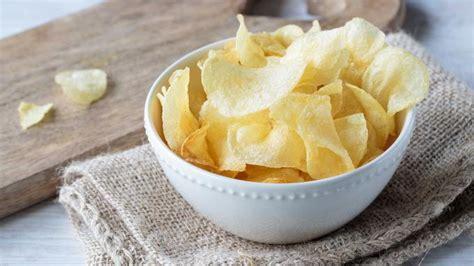 membuat keripik kentang  garing  renyah