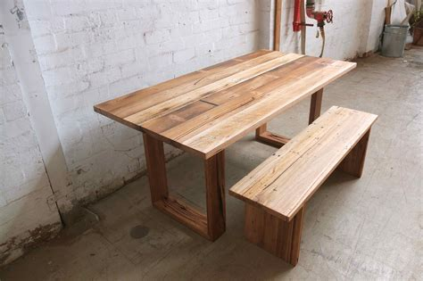 table and bench seats recent recycled timber tables made to order tim t design