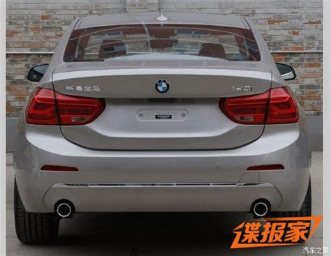 china bmw new photos of 2017 bmw 1 series sedan for china will get