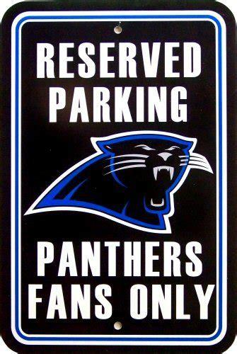 carolina panthers fan signs carolina panthers football fan parking sign old time signs