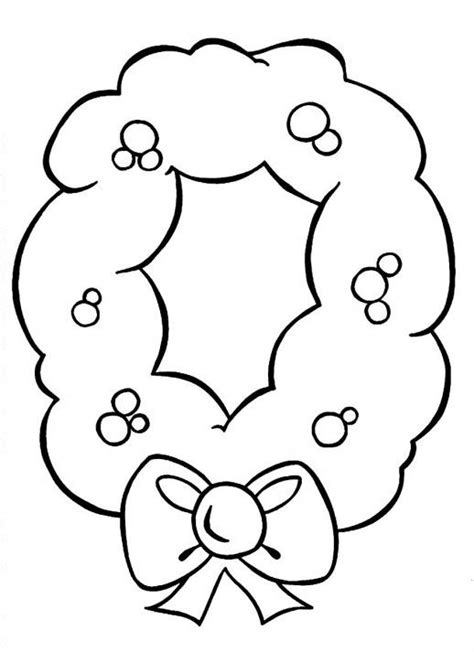 preschool wreath coloring page 21 best wreaths images on pinterest coloring pages