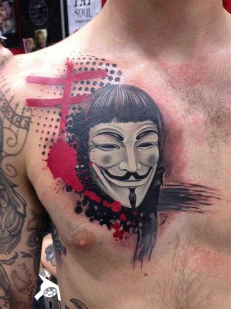 anonymous tattoo 1000 images about v for vendetta tattoos on