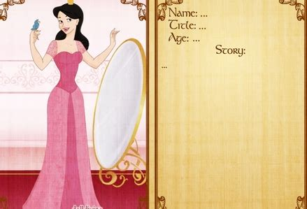 Be Discovered In Glams Design A Dress Contest by Make Your Own Disney Princess Contest Disney Princess