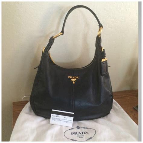 Prada Crispy Hobo Handbag by Prada Bags Vitello Daino Hobo Bag Poshmark