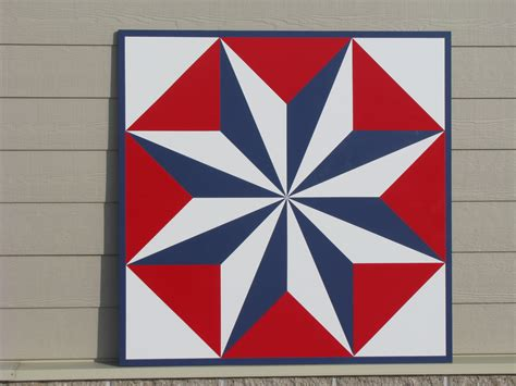 Barn Quilt Pattern by Prairie Patchworks