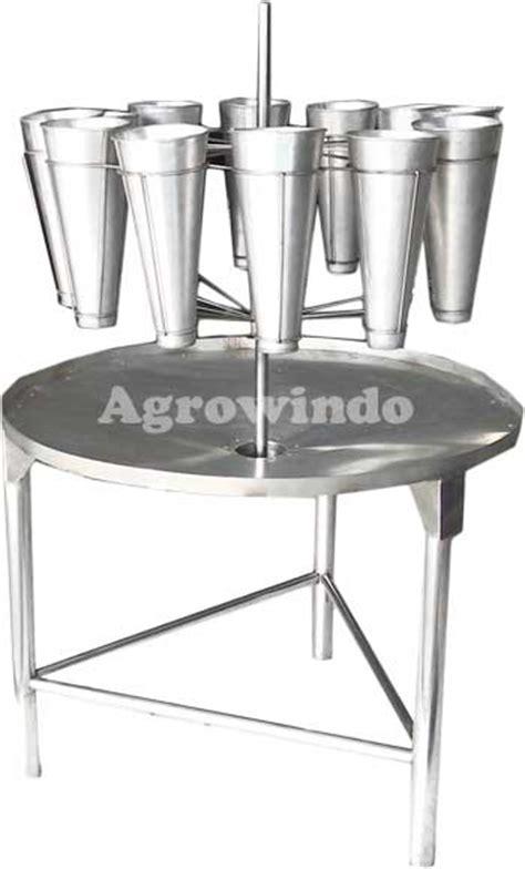 Meja Plat Aluminium mesin pemotongan ayam alat pengolahan ayam potong