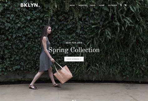 shopify themes brooklyn brooklyn shopify theme download review 2018
