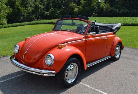 1971 Volkswagen Beetle Convertible by 1971 Volkswagen Beetle Convertible For Sale On Bat