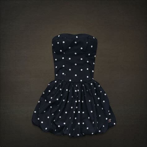 Black White Dot Dress W8179uzi D black and white poka dot dress
