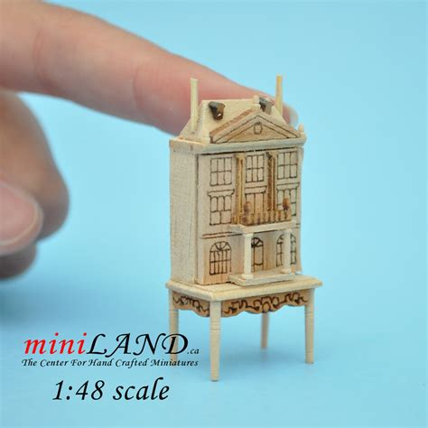 doll house scales 1 48 scale dollhouse for dollhouse unfinished with table