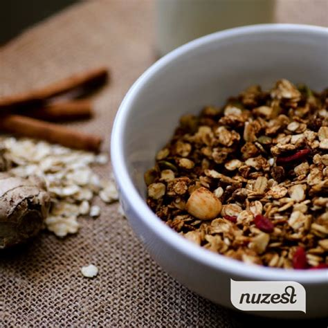 Protein Powder Giveaway - gingerbread granola and nuzest protein powder giveaway the full helping