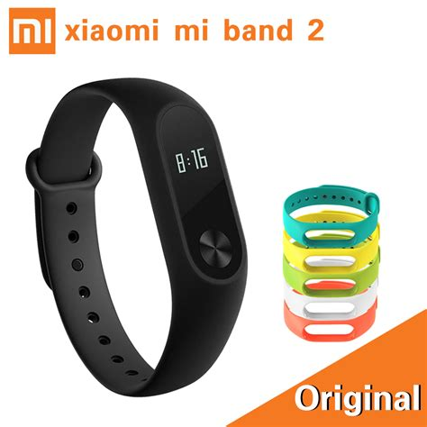 Bracelet Xiaomi Mi Band by Stock Xiaomi Mi Band 2 Smart Bracelet Rate Pulse Xiaomi Miband 2 Wristbands Xiaomi Mi Band