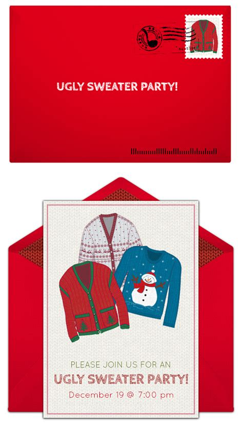 sweater invitation template free sweater ideas