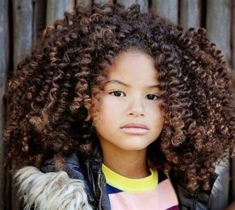 kids curly hairstyles kid hairstyles for curly hair 6 cute exles