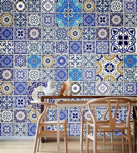 talavera azulejos tradicionales pegatinas caja de