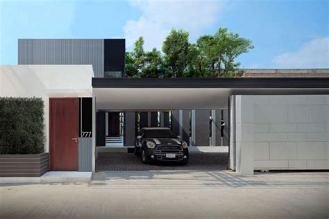 The Garage Bangkok by House In Bangkok By Ayutt And Associates Archiscene