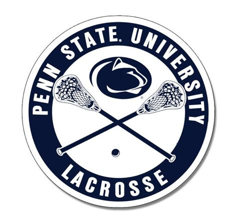 penn state lacrosse 5 quot magnet souvenirs gt home gt magnets
