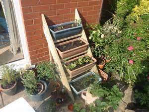 step boxes garden