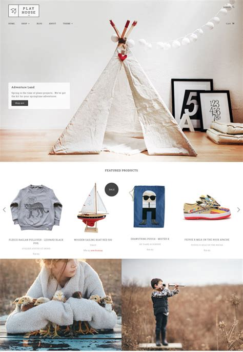 shopify theme blockshop 10 cute responsive shopify themes for kids