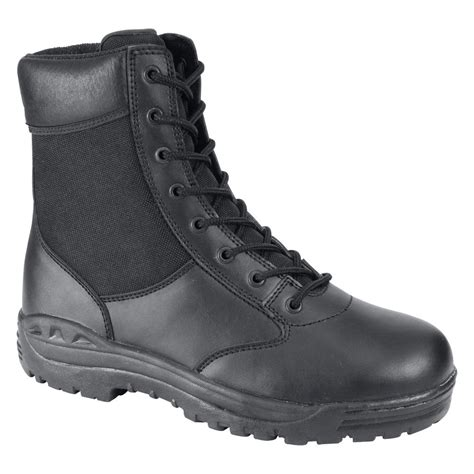 security boots rothco 174 8 quot black forced entry security boot