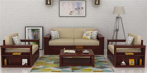 wooden sofa set in india wooden sofa sets buy solid wood sofa set upto 60