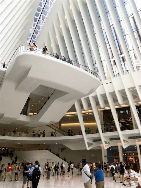 beautiful  oculus   world trade center
