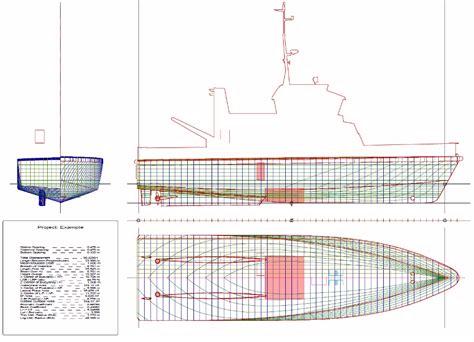 boat layout design software lines presentation plan en