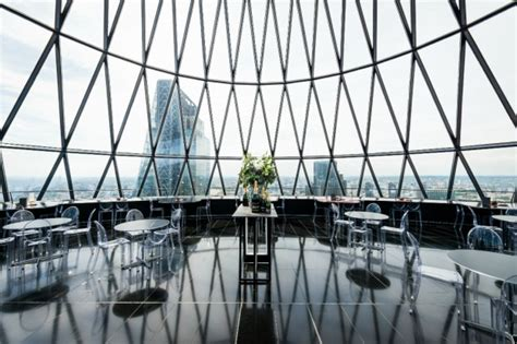 bar at the top of the gherkin searcys bar the gherkin bar and venue london designmynight