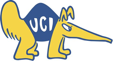uc irvine colors california irvine anteaters primary logo ncaa division i