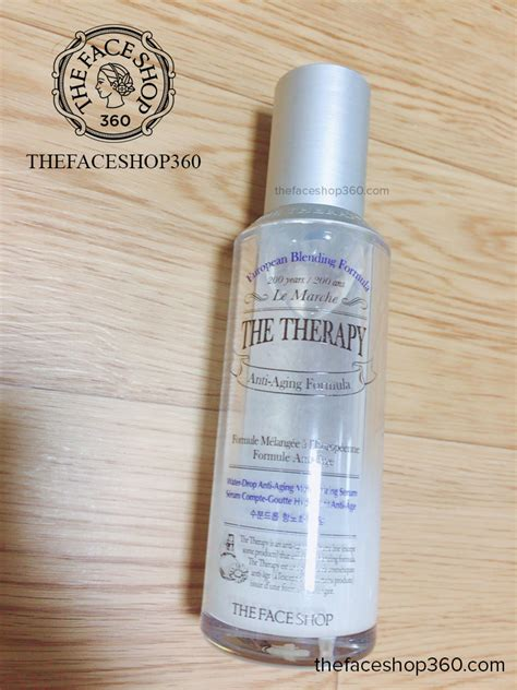 The Shop The Therapy Drop Anti Aging Serum tinh ch蘯 t d豌盻 ng 蘯ゥm ng盻ォa l 227 o h 243 a the therapy water drop