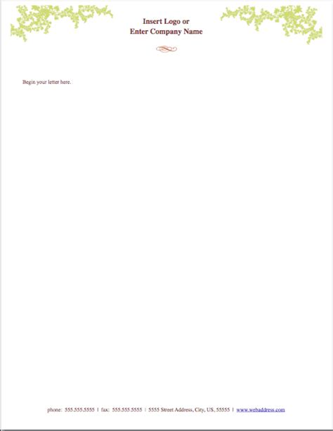 letterhead templates for pages weathered letterhead template free iwork templates