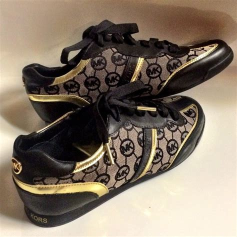 michael kors black and gold sneakers 28 images michael
